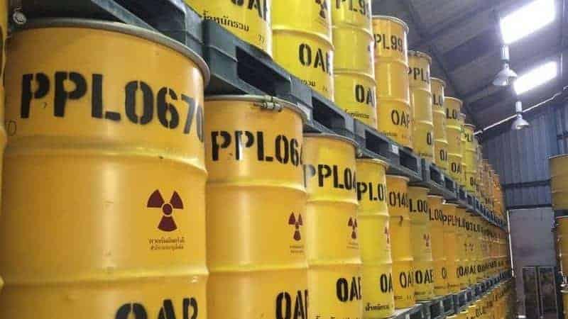 El problema y los riesgos de los residuos radiactivos 1