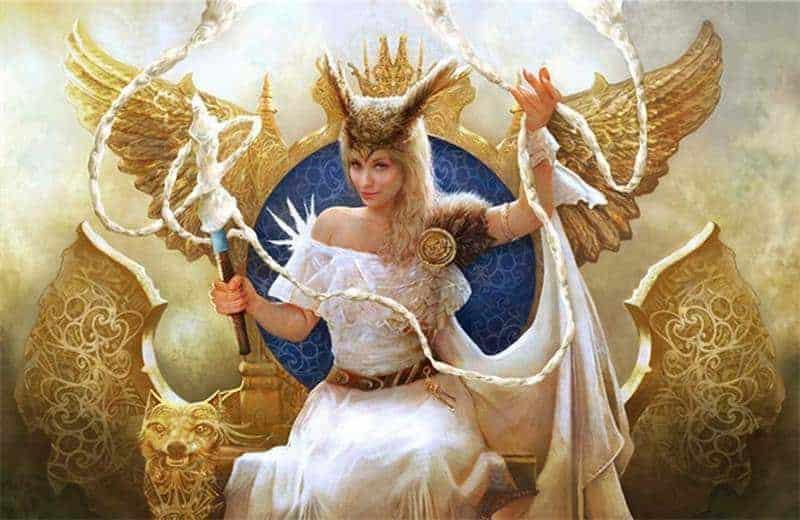 Frigg - La Reina de los Dioses de Aesir