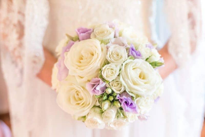 Flores de boda más populares: rosa
