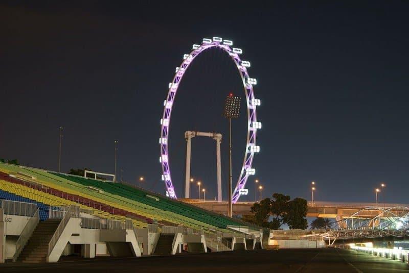 Las mejores ruedas de la fortuna: Singapore Flyer