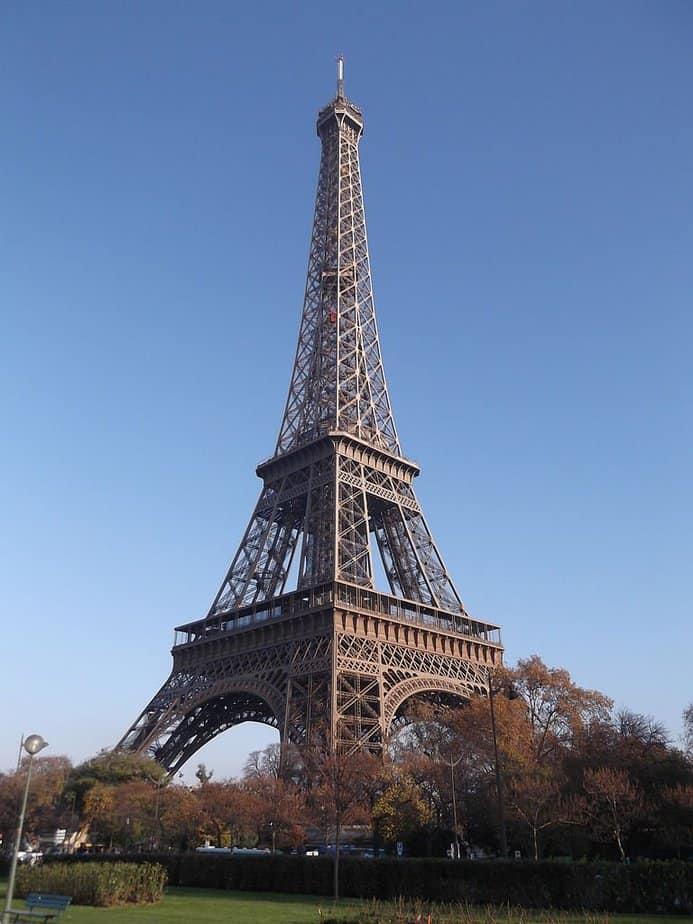 Principales atracciones de parís: torre eiffel