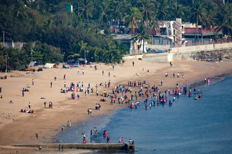 Playas más peligrosas: playa de Chowpatty