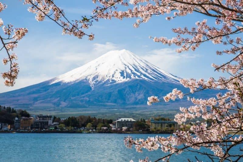 Los volcanes más impresionantes - Monte Fuji
