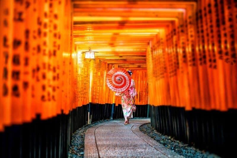 Los lugares más instagrameables: Kioto, Japón