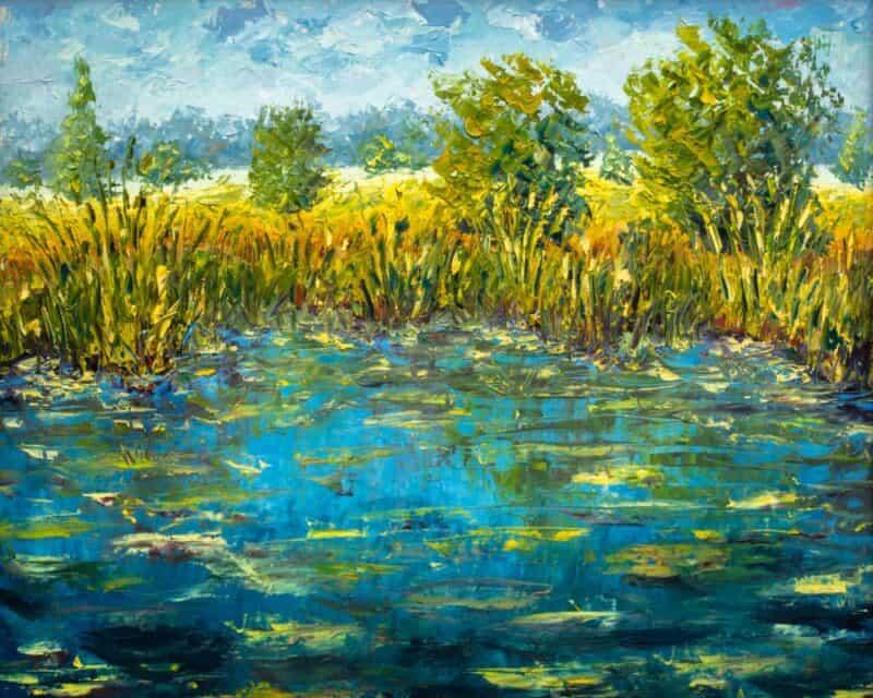 Artista más popular - Claude Monet