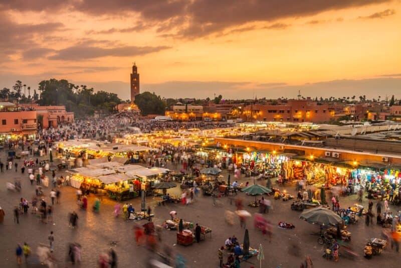 Ciudades más transitables: Marrakech