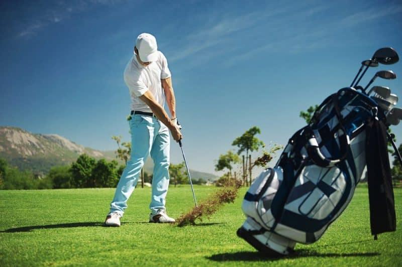 Las formas más relajantes de quemar calorías: golf