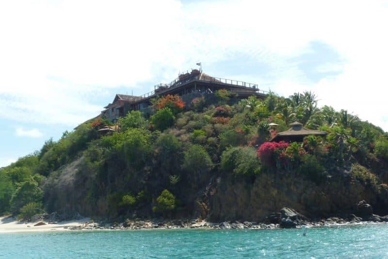 Resorts más caros: Necker Island en las Islas Vírgenes Británicas