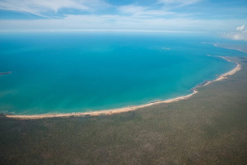 Playas más peligrosas: playas del Territorio del Norte