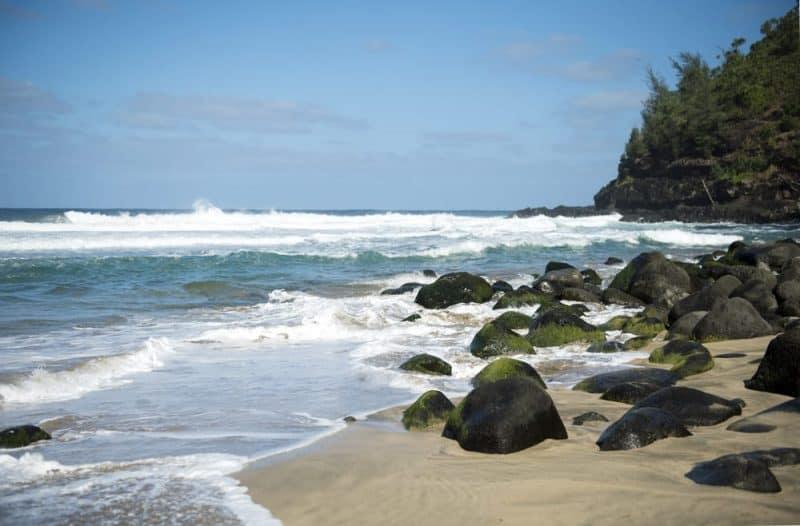 Playas más peligrosas - playa Hanakapiai