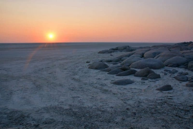 Los lugares más silenciosos - Makgadikgadi pans