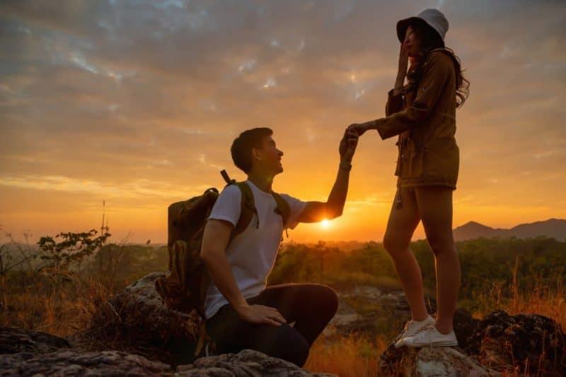 Las 10 formas más románticas de proponerle algo a alguien 1