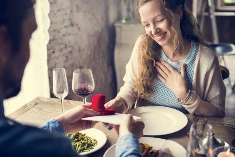 Proponer las opciones más románticas