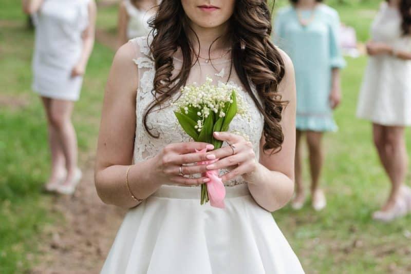 Flores de boda más populares: lirios del valle