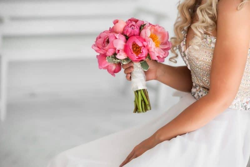 Flores de boda más populares - peonía