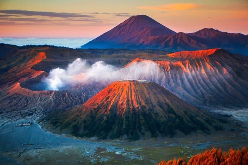 Los volcanes más impresionantes - Monte Bromo