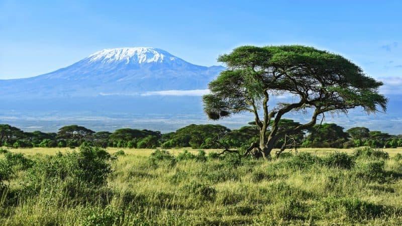 Los volcanes más impresionantes - Kilimanjaro
