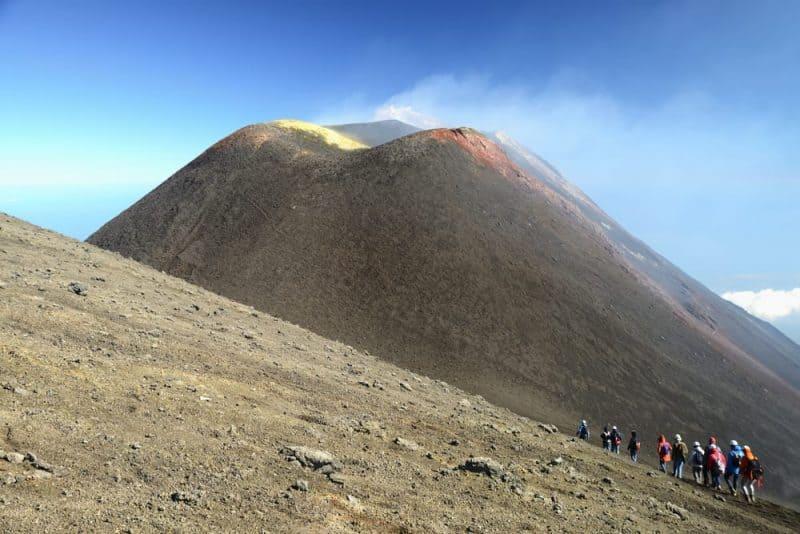 Los volcanes más impresionantes - Etna