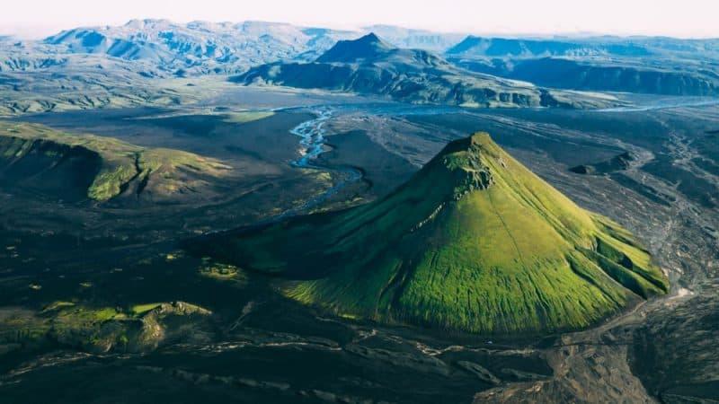 Los volcanes más impresionantes - Volcán Maelifell
