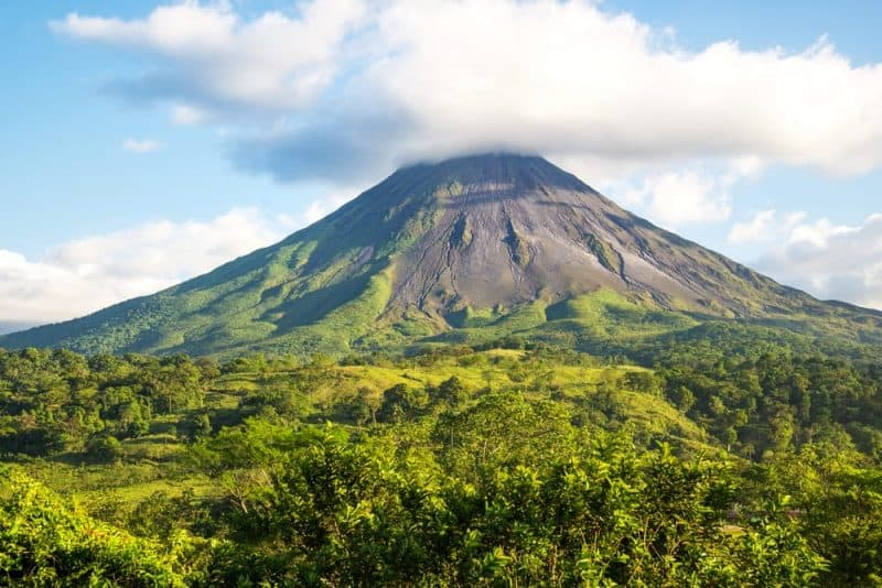 Los volcanes más impresionantes - Volcán Arenal