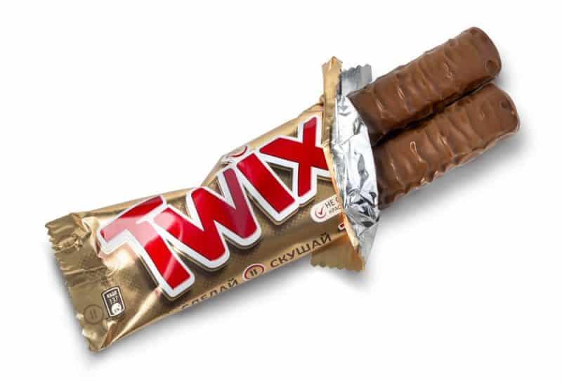 El dulce más popular para pedir dulces - Twix