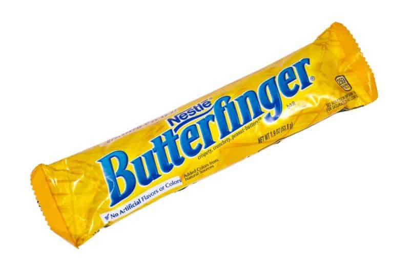 Los dulces más populares para pedir dulces - Butterfinger