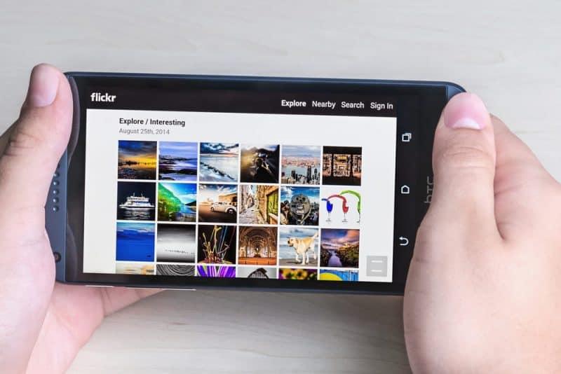 Aplicaciones de redes sociales más populares: Flickr