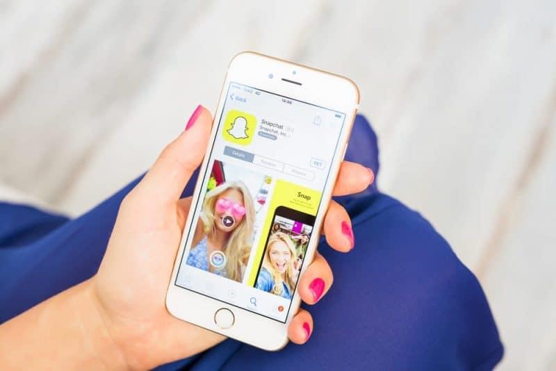 Aplicaciones de redes sociales más populares: Snapchat