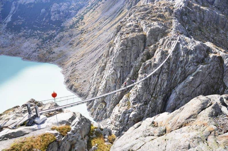 Los puentes más peligrosos - Trift Bridge