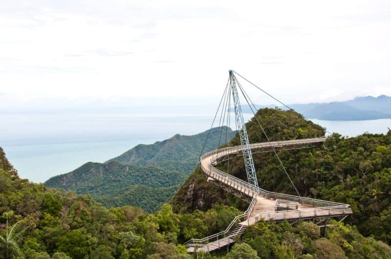 Los puentes más peligrosos - Langkawi Sky Bridge