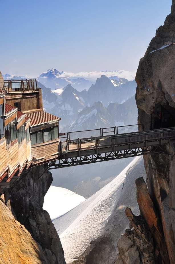 Los puentes más peligrosos - Aiguille du Midi