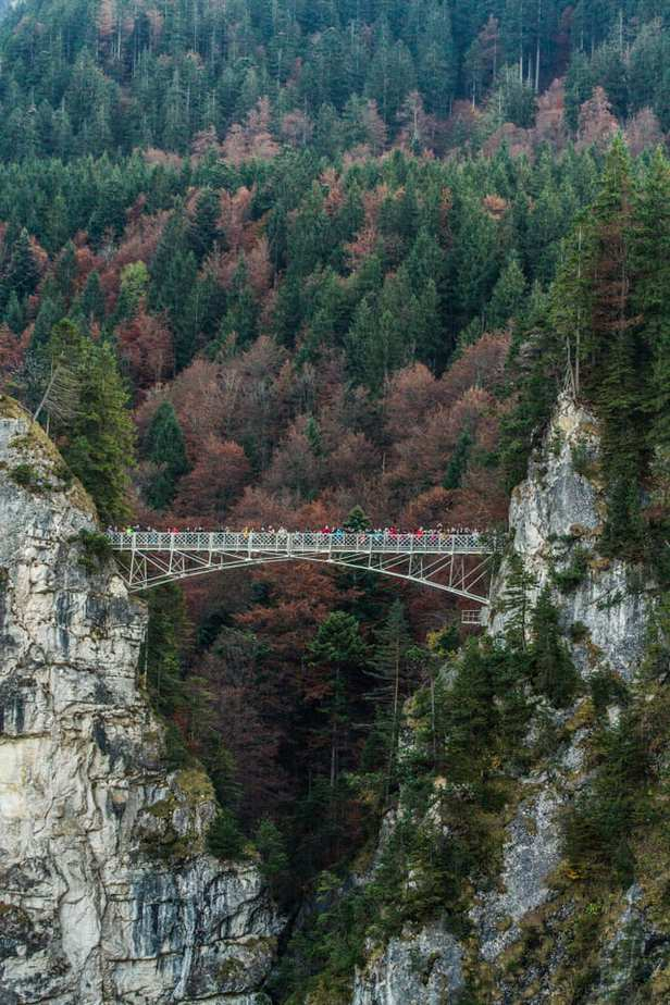 Los puentes más peligrosos - Marienbrücke