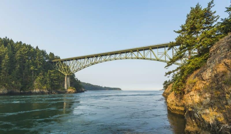 Los puentes más peligrosos - Deception Pass Bridge