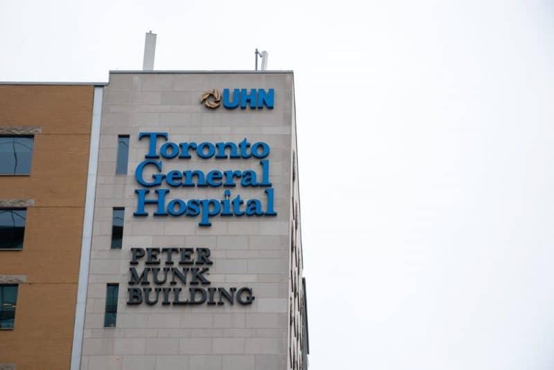 Hospital más avanzado - Hospital General de Toronto