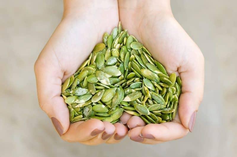 Las semillas más nutritivas: semillas de calabaza