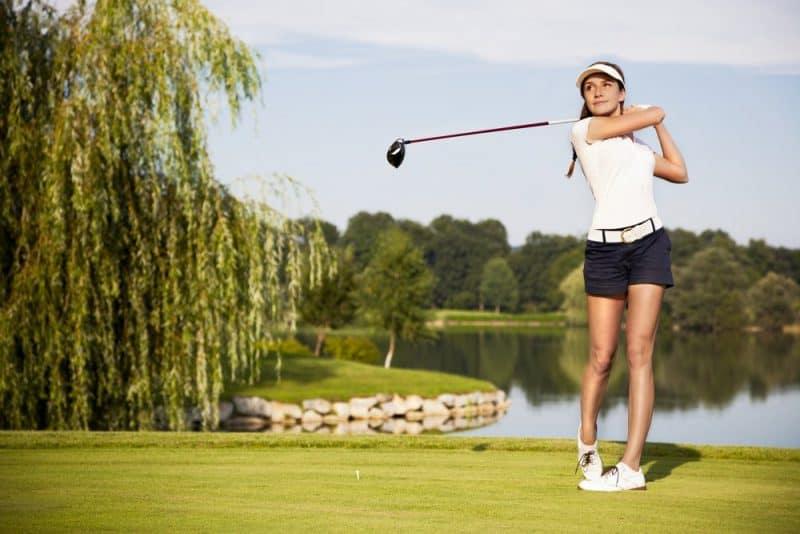 Los deportes más populares para las niñas: golf