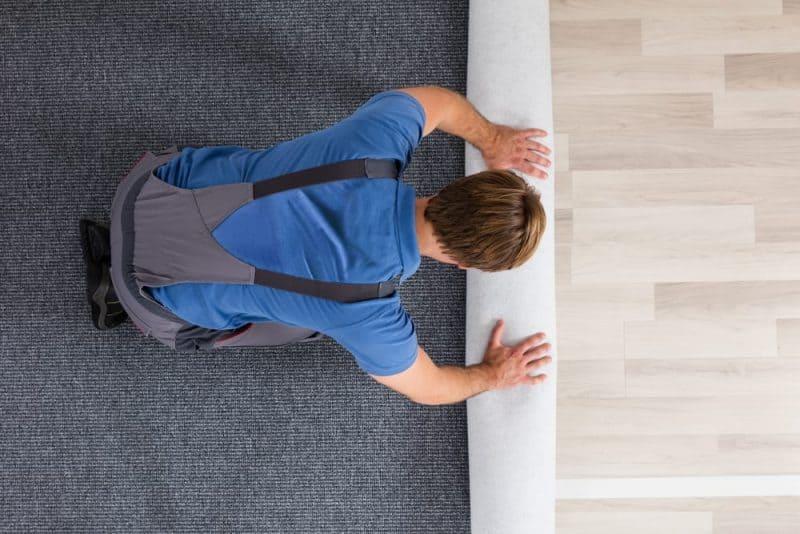 Los productos más peligrosos de la escuela: alfombras