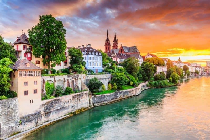 Los países más pacíficos - Suiza