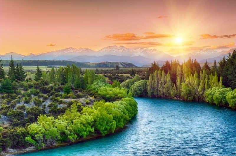 Los países más pacíficos - Nueva Zelanda