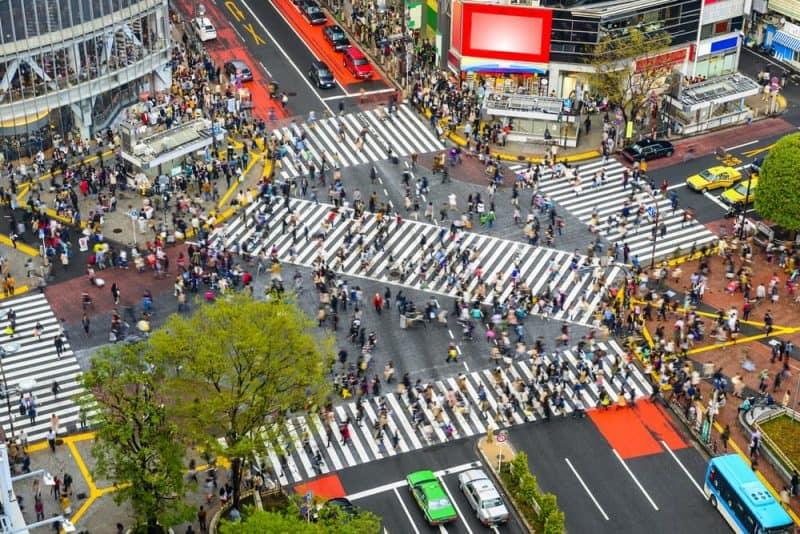 ciudades más concurridas del mundo - Tokio