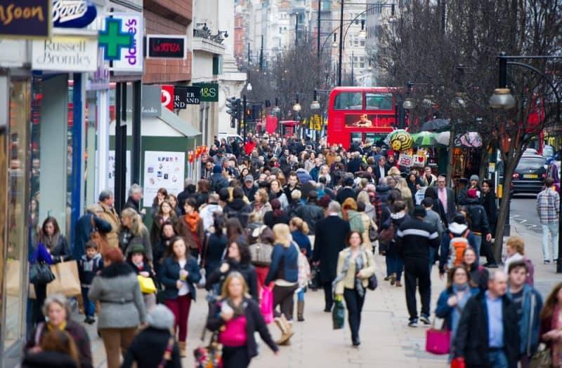 ciudades más concurridas del mundo - London City