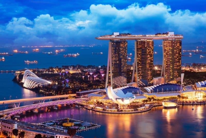 ciudades más concurridas del mundo - Singapur