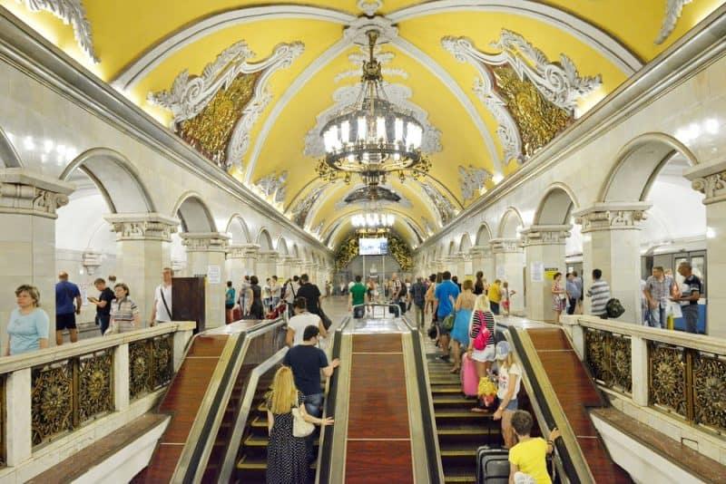 ciudades más concurridas del mundo - Moscú