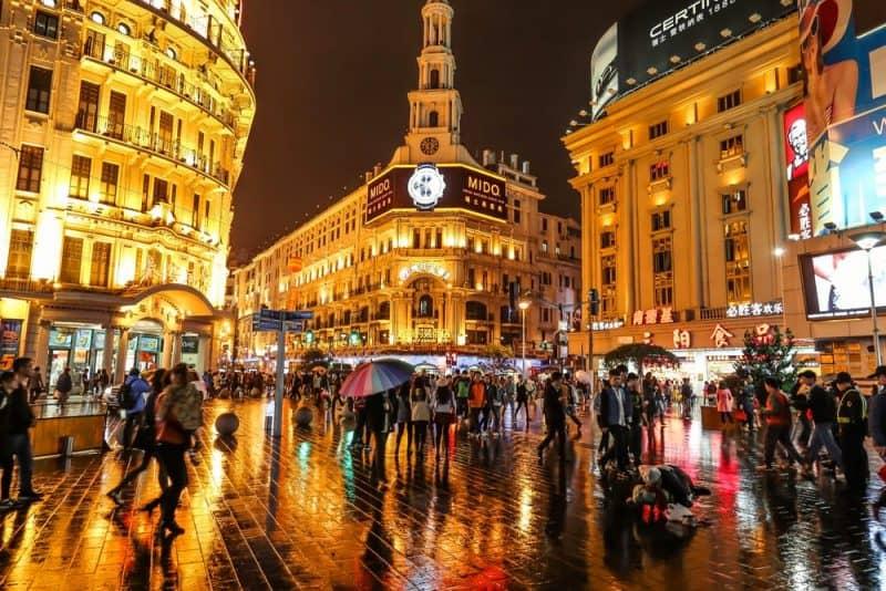 ciudades más concurridas del mundo - Shanghai
