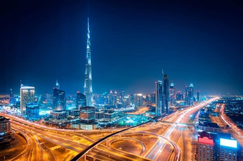 ciudades más concurridas del mundo - Dubai