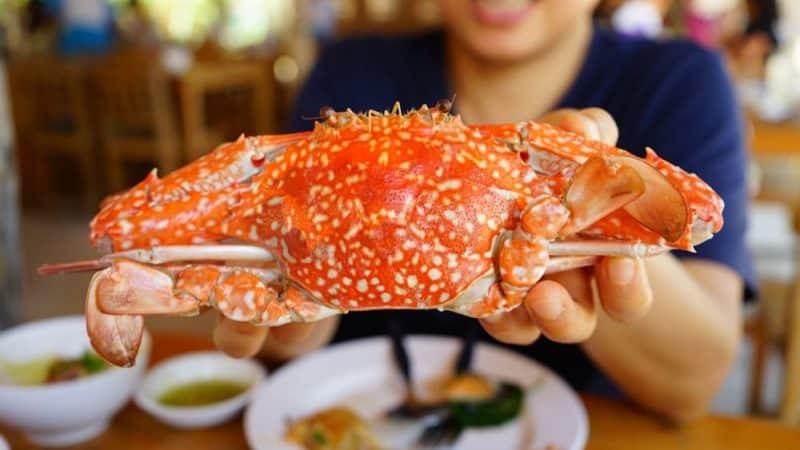 Alimentos saludables para personas mayores - mariscos