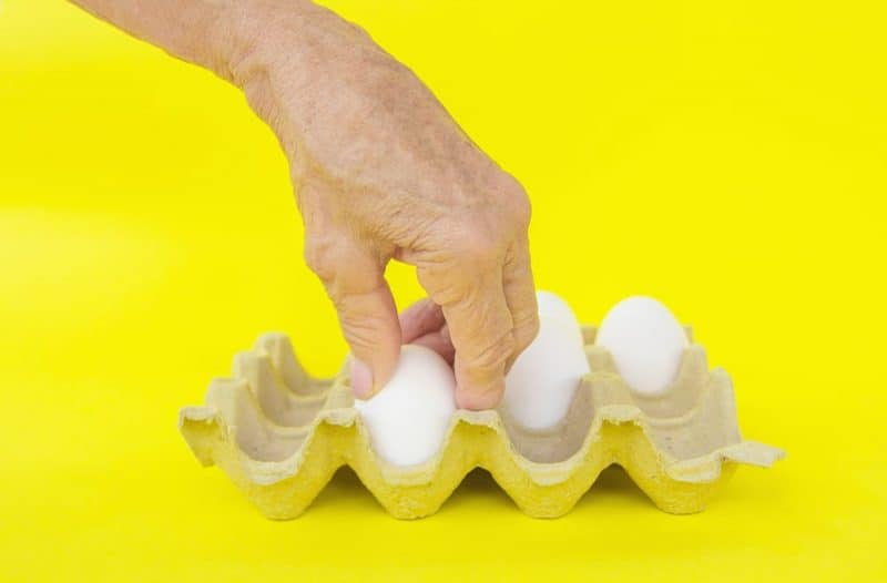 Alimentos saludables para personas mayores: huevos