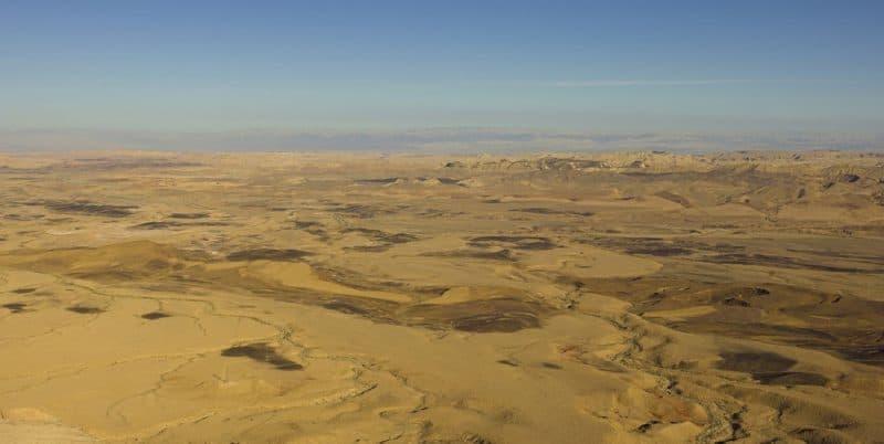 Principales atracciones de Israel: Cráter Ramon, Negev