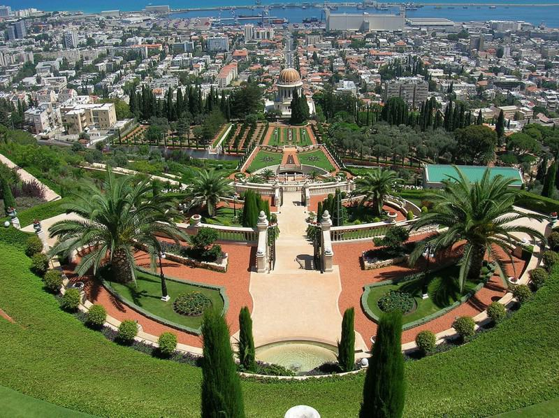 Principales atracciones de Israel: Jardines Bahai, Haifa