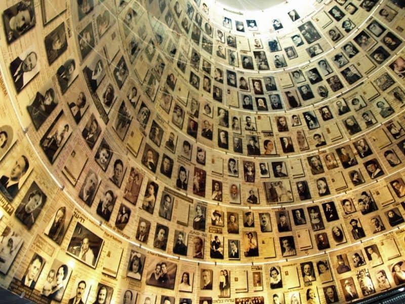 Salón de los nombres de Yad Vashem